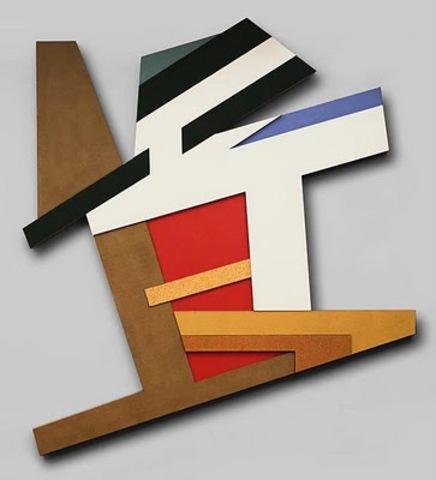 "Frank Stella's ""Pilica II"""