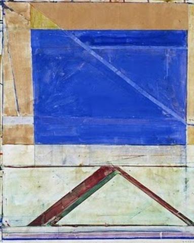 """Richard Diebenkorn's """"Untitled( Ocean Park Drawing)"""