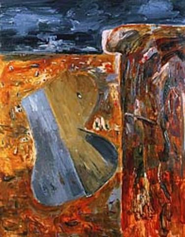 "John Walker's ""October Low Tide, Maine"""