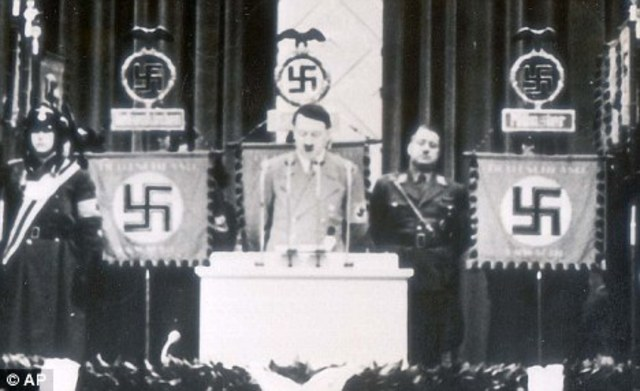 Adolf Hitler becomes leader of Knotsie party
