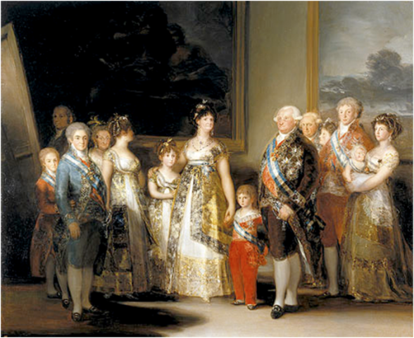 Charles IV´s Family Painting