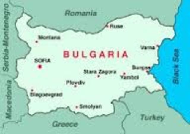 bulgaria entra en guerra junto a imperios centrales.