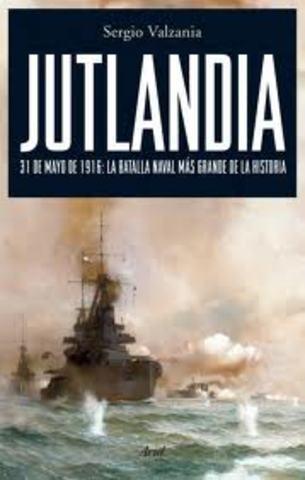 batalla naval frente a la península de jutlandia.