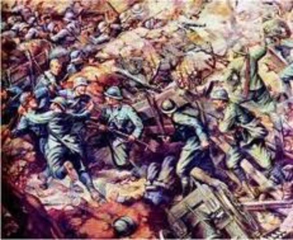 derrota italiana en caporetto.