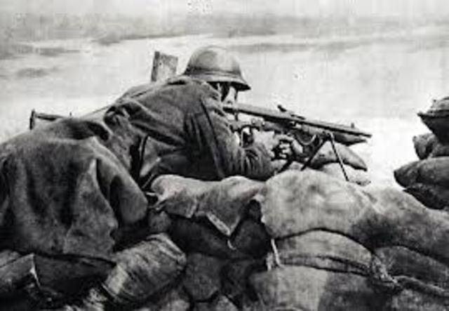 comienza ofensiva alemana en el somme.