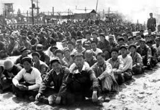 Vladek captured and taken to POW