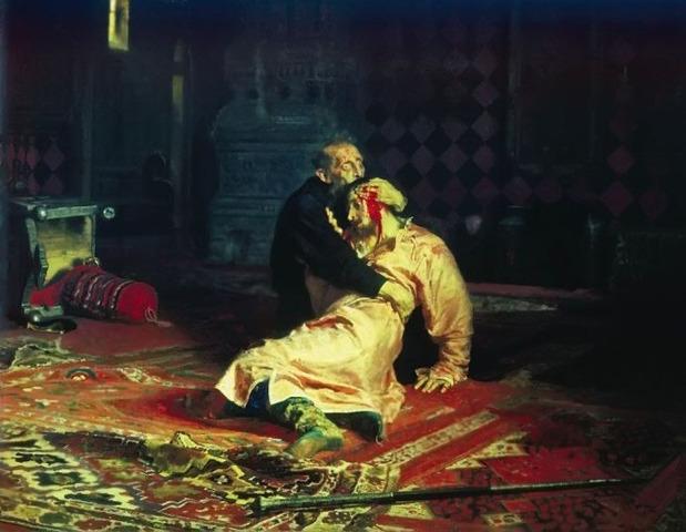 Ivan kills his eldest son