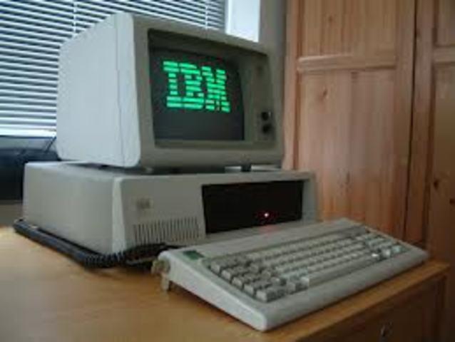 la IBM PC con MS-DOS