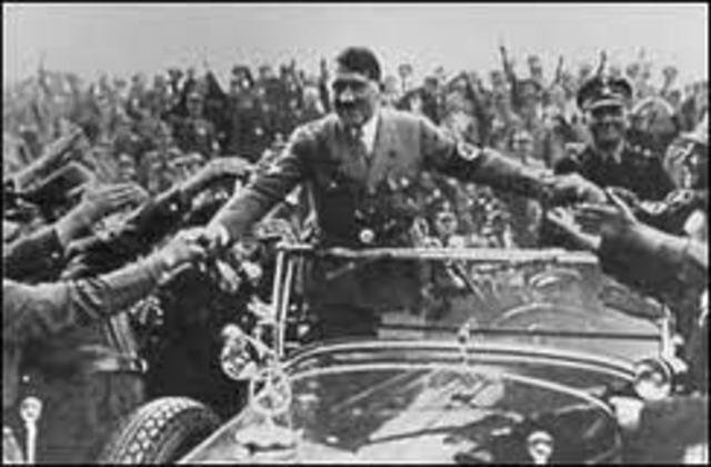 March 21 - Hitler is named Chancellor of Germany