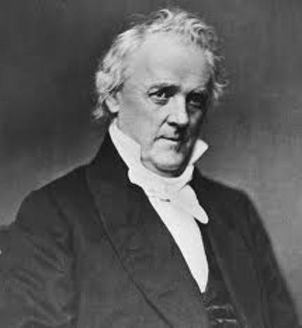 James Buchanan President 1857-1861