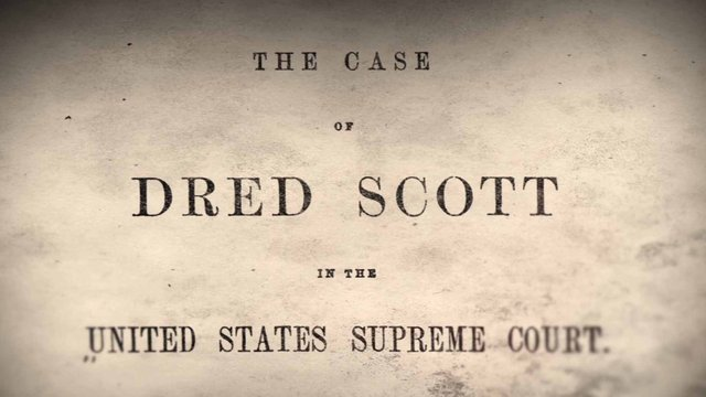 Dred Scott v. Sandford Decision