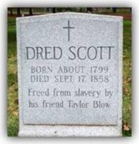 Dred Scott Dies