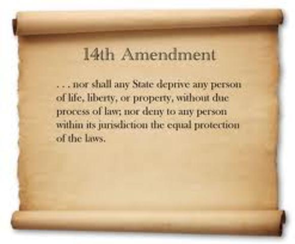 14th Amendment Created