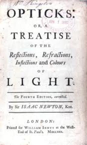 Publishing of Opticks