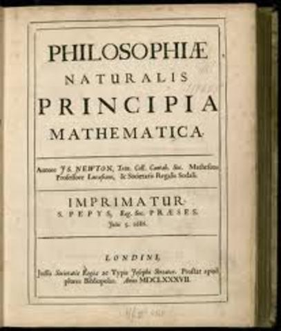 Publishing of Principia
