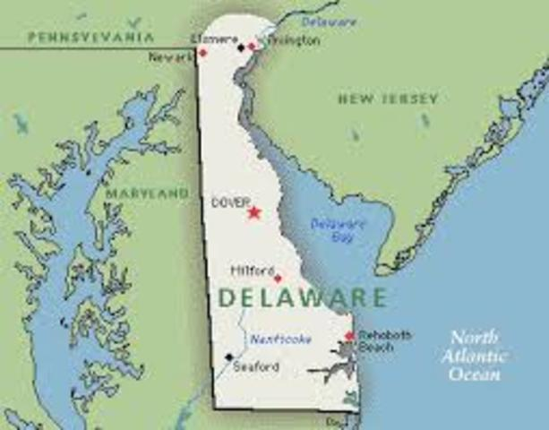Delaware becomes its own Colony