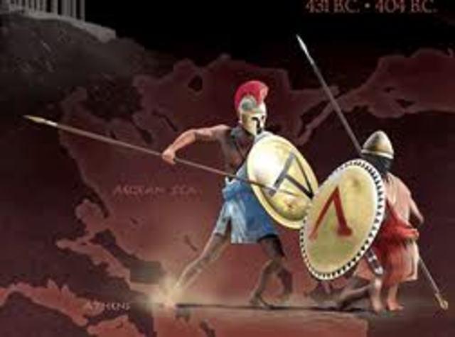 431BC Peloponnesian War