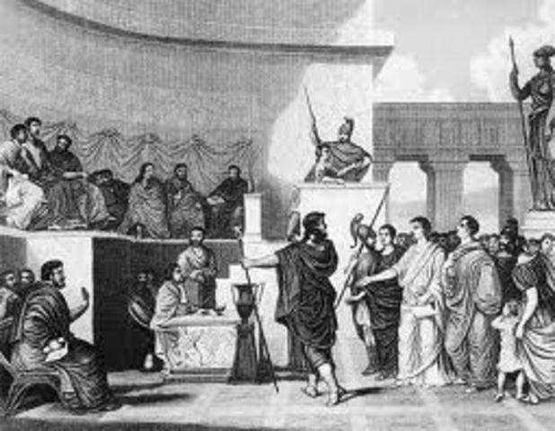 509 BC: Roman Republic.