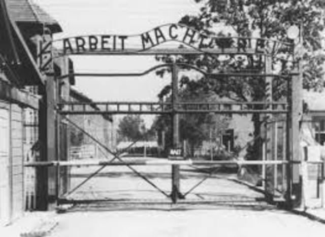 Auschwitz Camp starts up