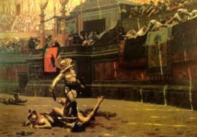 264 BC Roman Gladiator