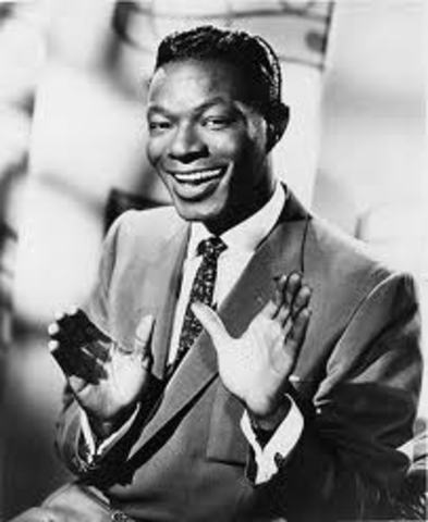 Nat King Cole makes his first recording