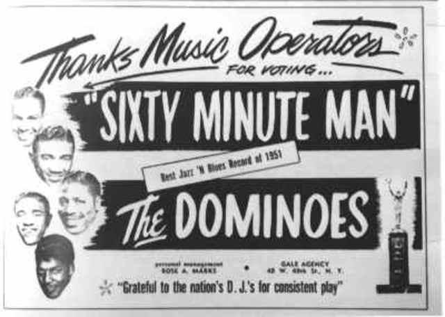 "The Dominoes' ""60 Minute Man"""