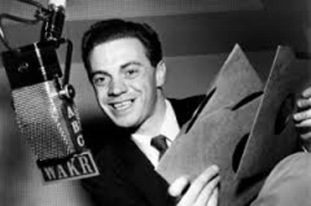 """Alan Freed coins the term """"Rock n Roll"""""""