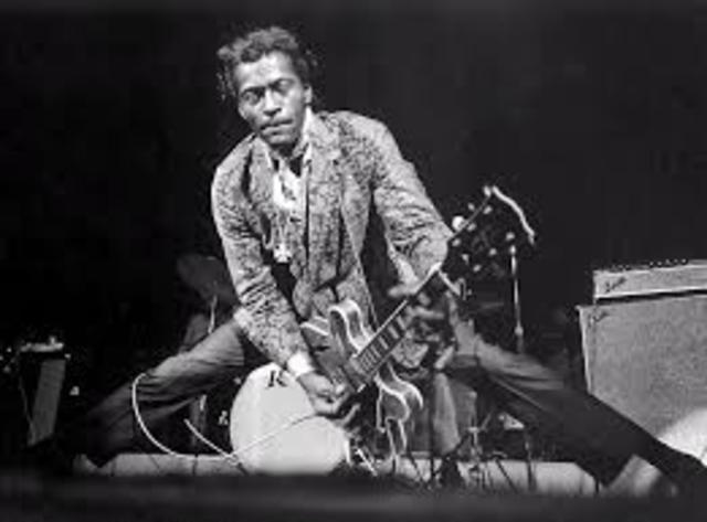 """Chuck Berry's """"Johnny B. Goode"""" released"""
