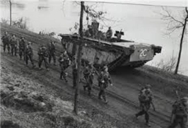 Hitler sends troops into Rhineland of Germany in violation of the Versailles Treaty