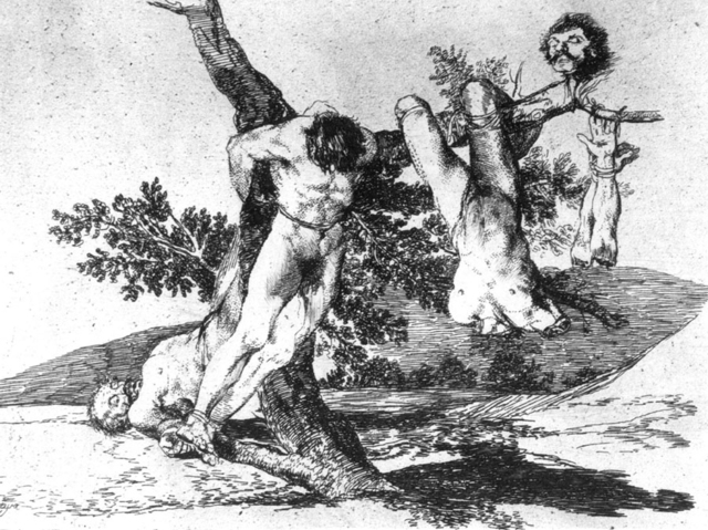 independence war by goya