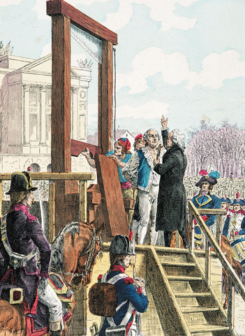 Execution Louis XVI of France