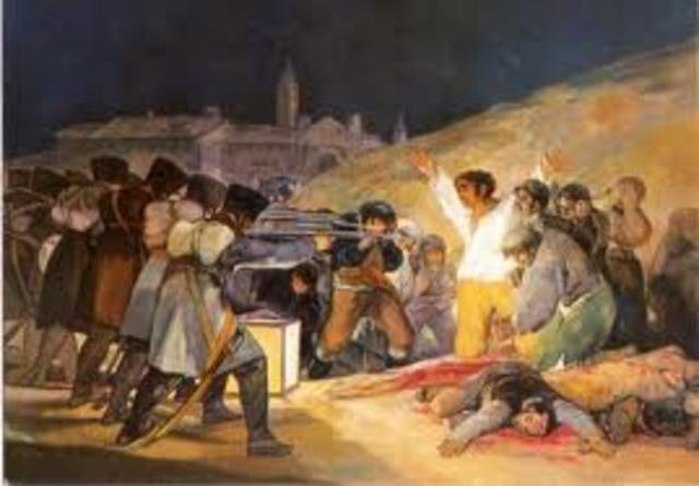 Painting of the Independece War
