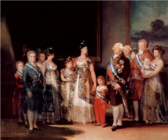 Charles IV families paintings