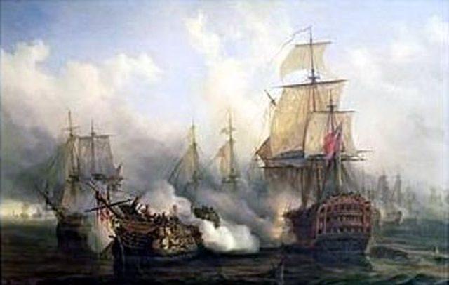 Defeat at Trafalgar