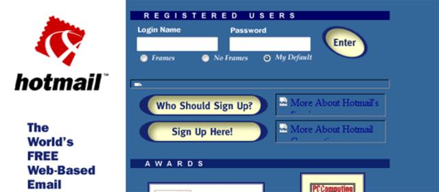 Primer servicio web (webmail)