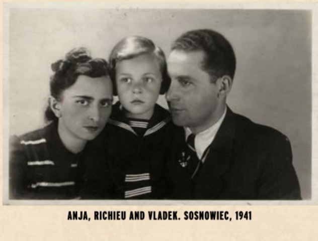 Richeu, Anja and Vladek's first son is born