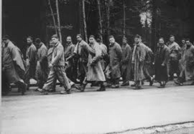 Auschwitz is evacuated