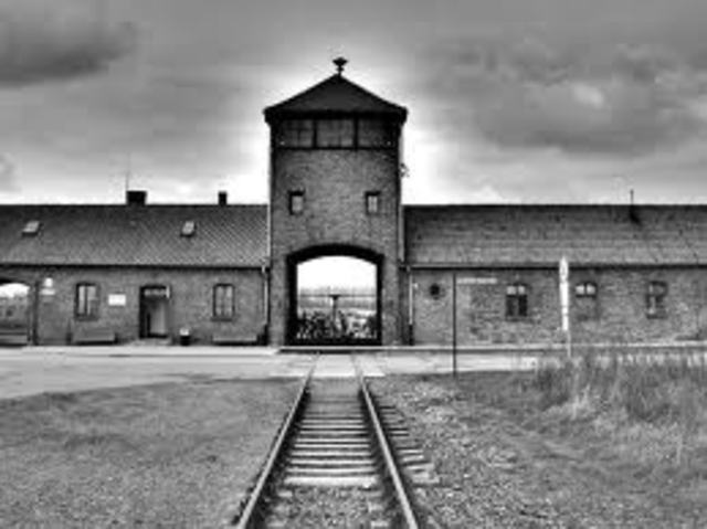 Auschwitz concentration camp opens