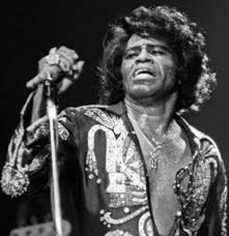 """James Brown releases his first record """"Please Please Please"""""""