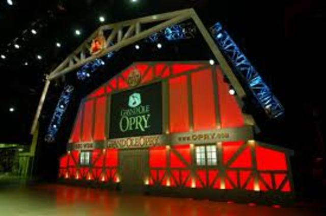 The Grand Ole Opry moves