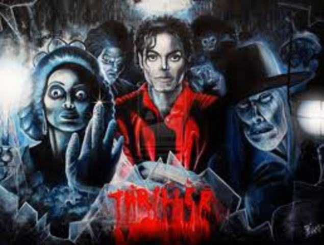"Michael Jackson's ""Thriller"" released"