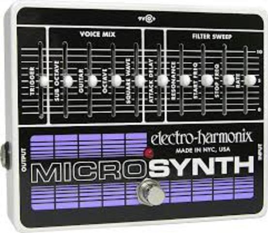 First synthesizers introduced