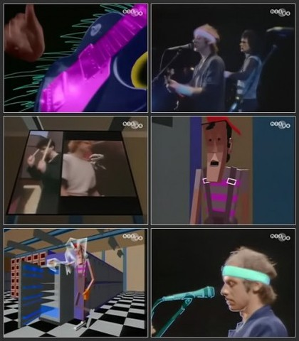 music video - Dire Straits - Money For Nothing