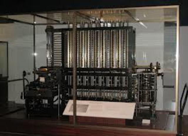 Charles Babbage diseña su maquina diferencial