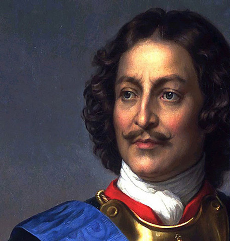 Peter the Great builds St. Petersburg