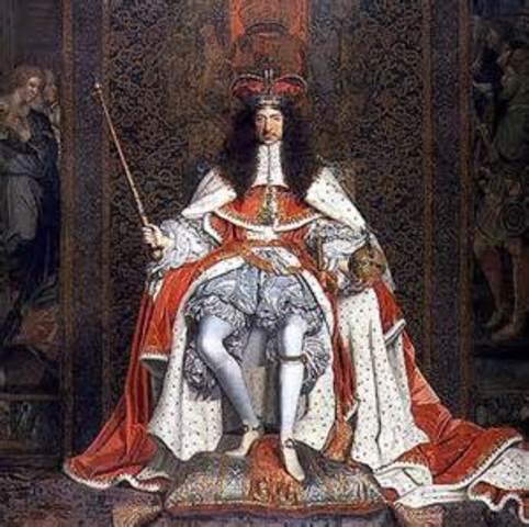 The restoration of Charles II