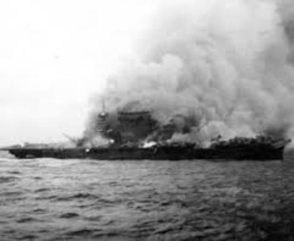 June 4-7 Battle of Midway, turning point of war in the Pacific