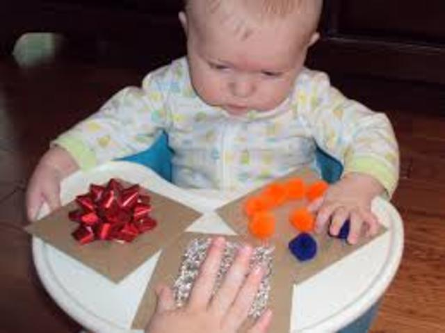 Physical development at 15 months