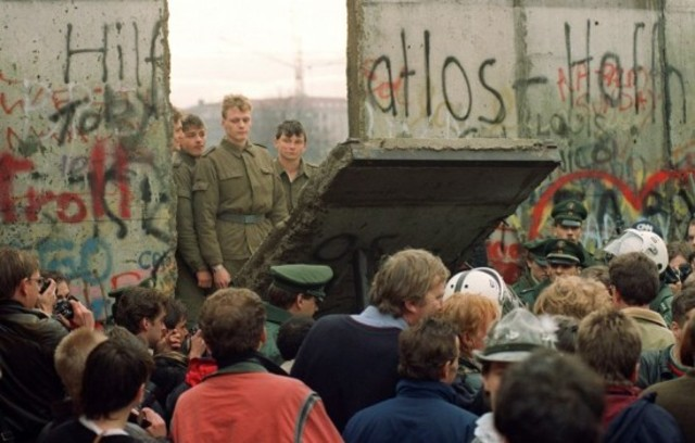 Berlin Wall destroyed