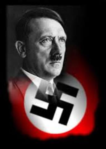 Hitler becomes chancellor, or leader of German Parliament.